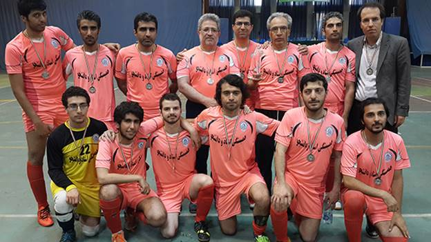 Computer Eng.  Professors & Students Solidarity Futsal Team Vice-Champion of The First Sharif Professors & Students Solidarity Futsal CUP